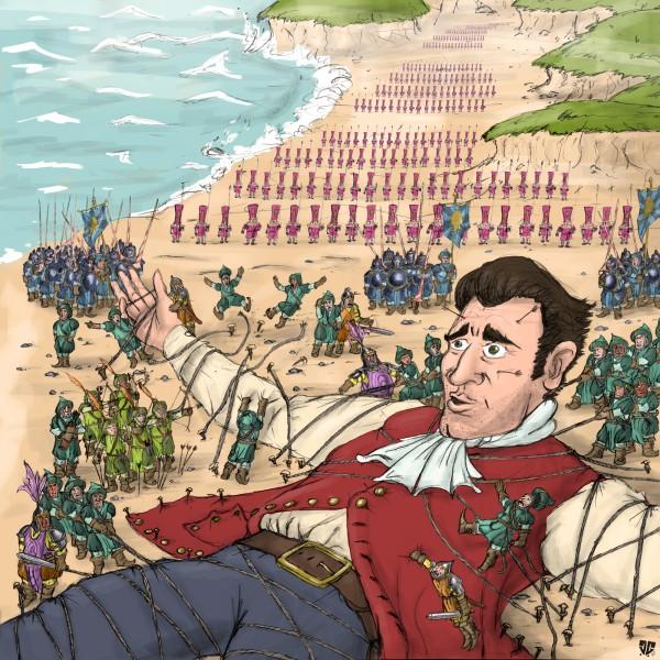 Thumbnail for Illustration Gullivers Reisen