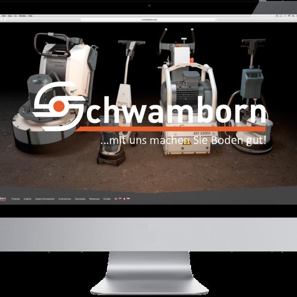 Thumbnail for Schwamborn – neuer Webauftritt