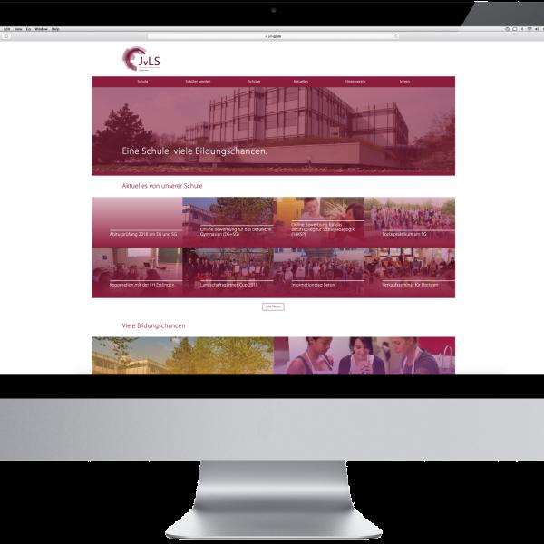 Thumbnail for Die Website der Justus von Liebig Schule