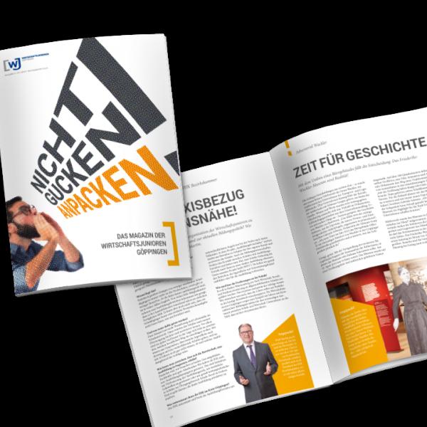 Thumbnail for Wirtschaftsjunioren Magazine