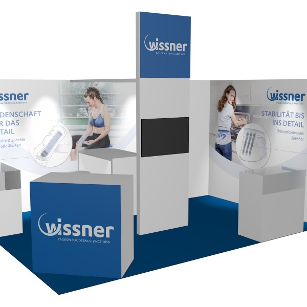 Thumbnail for Wissner Messestand
